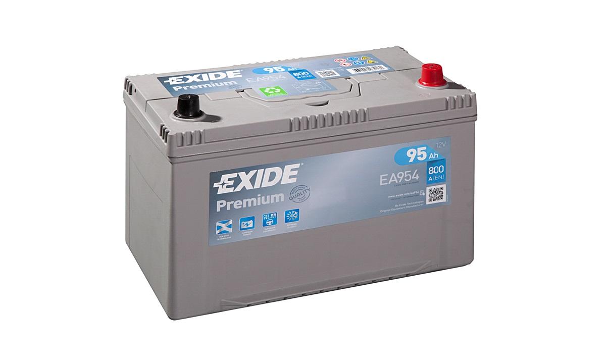 Startbatteri - _EA954 - PREMIUM * - (Exide)