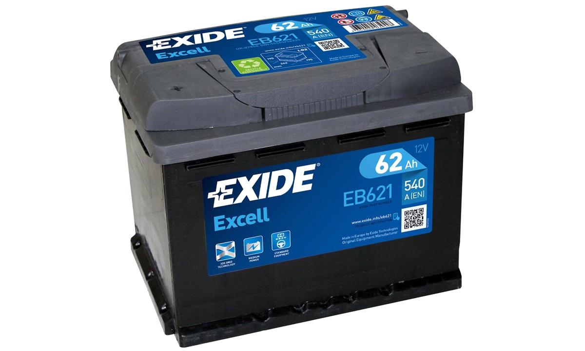 Startbatteri - _EB621 - EXCELL ** - (Exide)