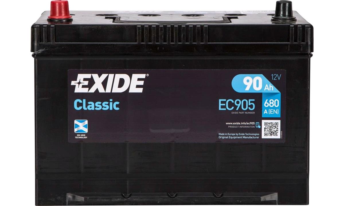 Startbatteri - _EC905 - CLASSIC * - (Exide)