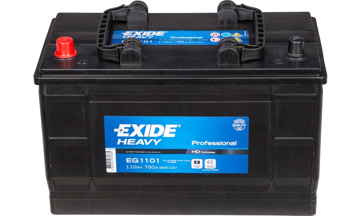 Startbatteri - EG1101 - StartPRO - (Exide)