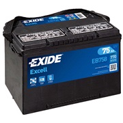 Batteri - EB758 - EXCELL - (Exide)