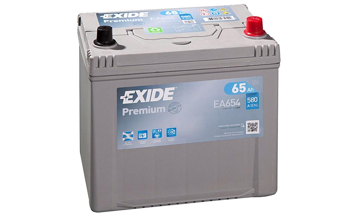 Startbatteri - _EA654 - PREMIUM * - (Exide)