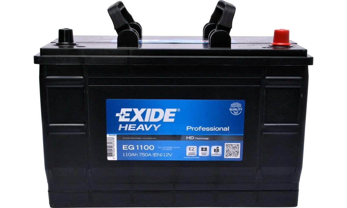 Startbatteri - EG1100 - StartPRO - (Exide)