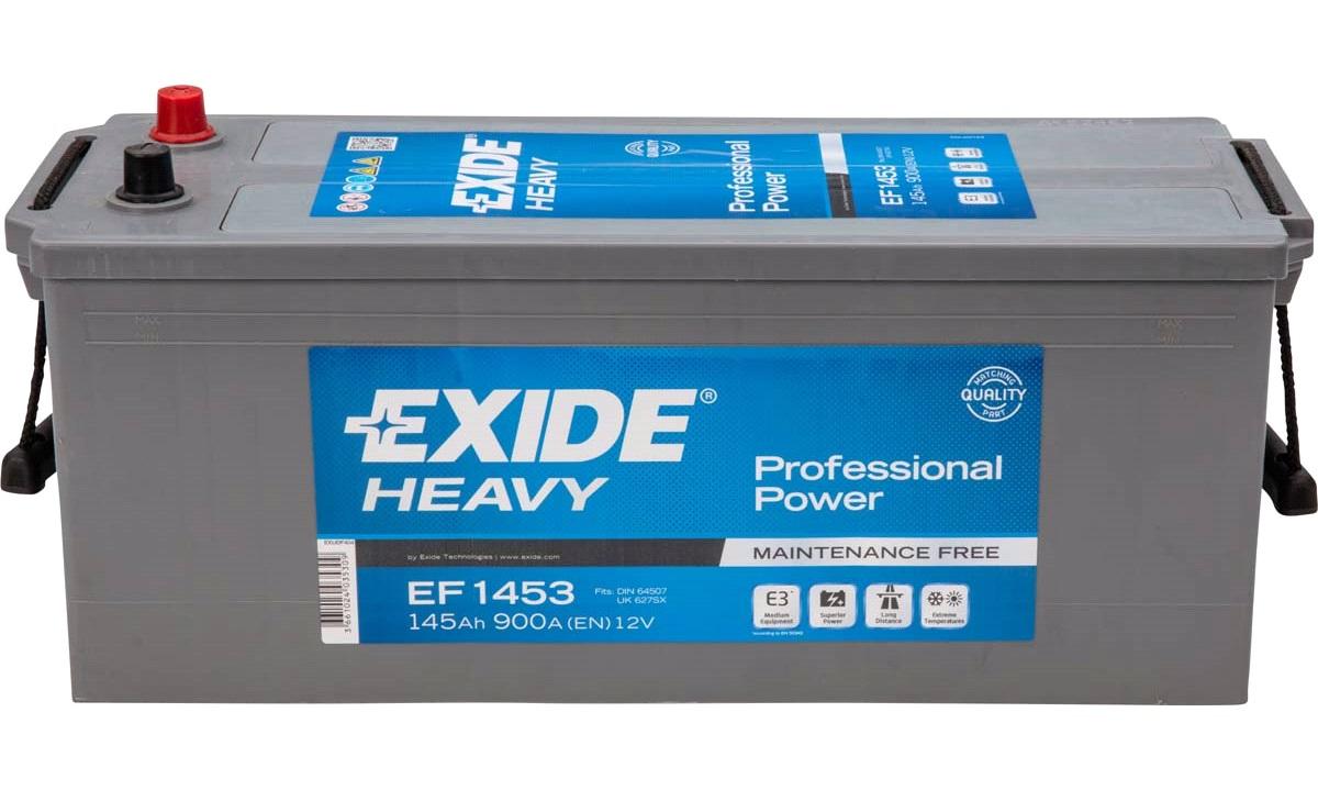 Batteri - EF1453 - PowerPRO - (Exide)