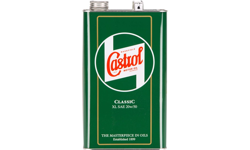 castrol classic xl 20w 50 5 liter motorolie. Black Bedroom Furniture Sets. Home Design Ideas