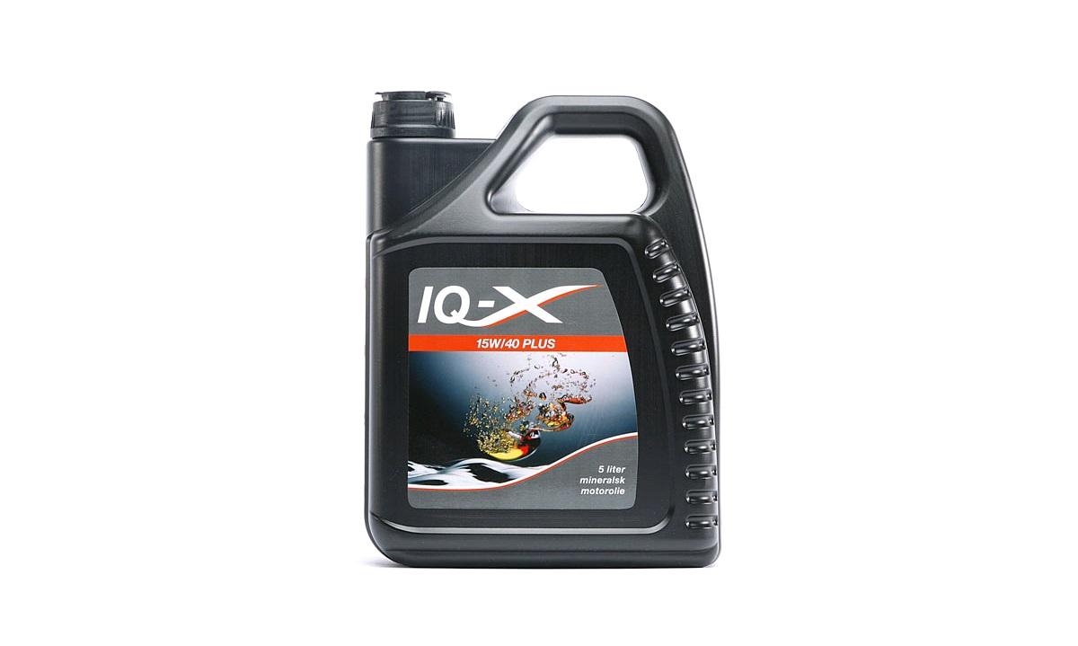 IQ-X PLUS 15W/40 motorolie, 5 liter