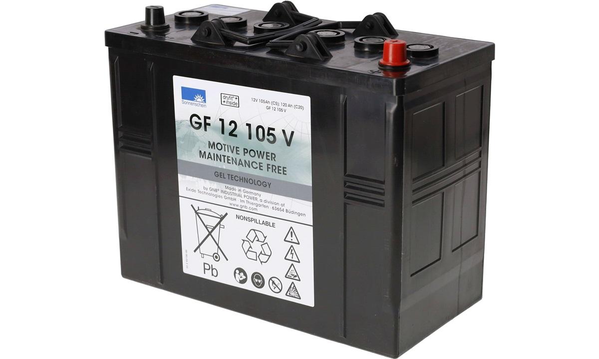 Batteri - GF12105V - (EXIDE)