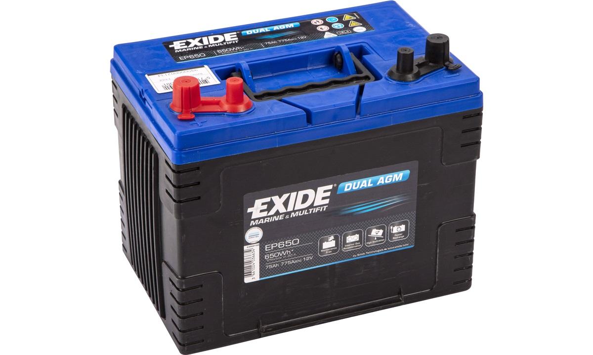 Batteri - EP650 - EXIDE