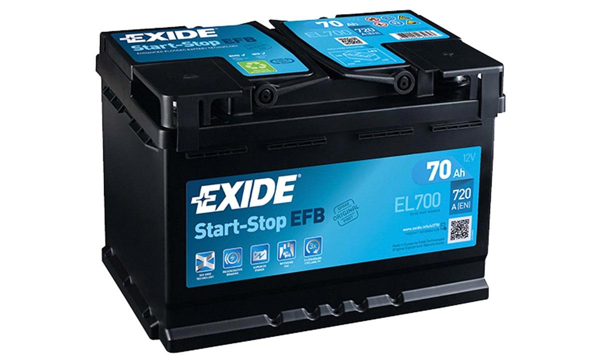 Batteri - EL700 - Start-Stop EFB