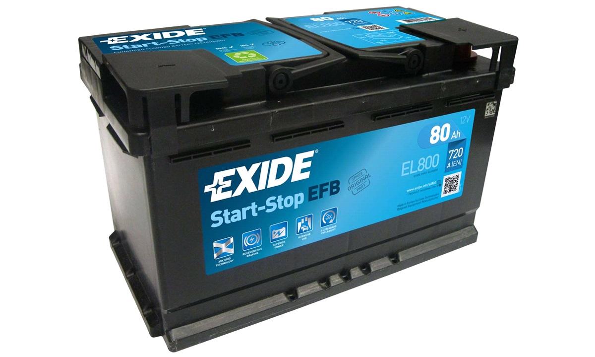 Startbatteri - EL800 - Start-Stop EFB - (Exide)