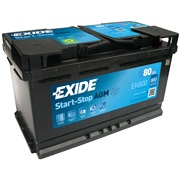 Batteri - EK800 - Start-Stop AGM - (Exid