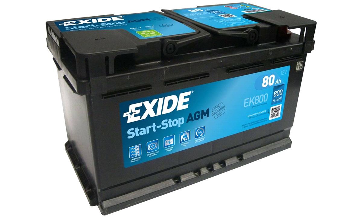 Batteri - EK800 - Start-Stop AGM
