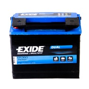 Startbatteri - EXIDE DUAL - (Exide)