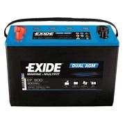 Startbatteri - EXIDE DUAL AGM - (Exide)
