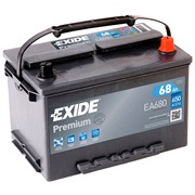 Batteri - EA680 - PREMIUM - (Exide)