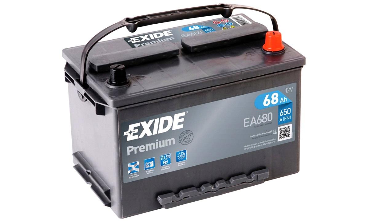 Startbatteri - _EA680 - PREMIUM * - (Exide)