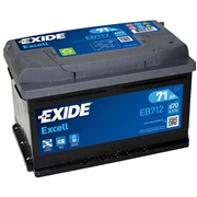 Batteri - EB712 - EXCELL - (Exide)