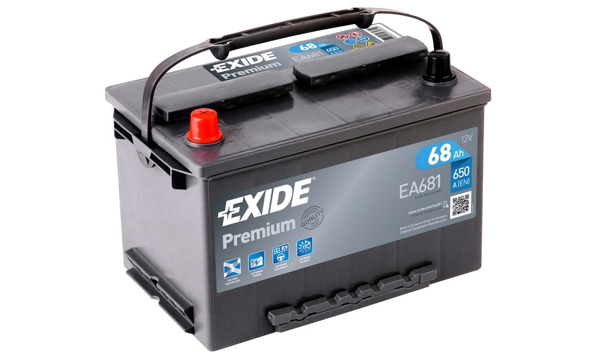 Startbatteri - _EA681 - PREMIUM * - (Exide)