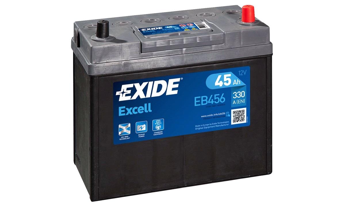 Startbatteri - _EB456 - EXCELL ** - (Exide)