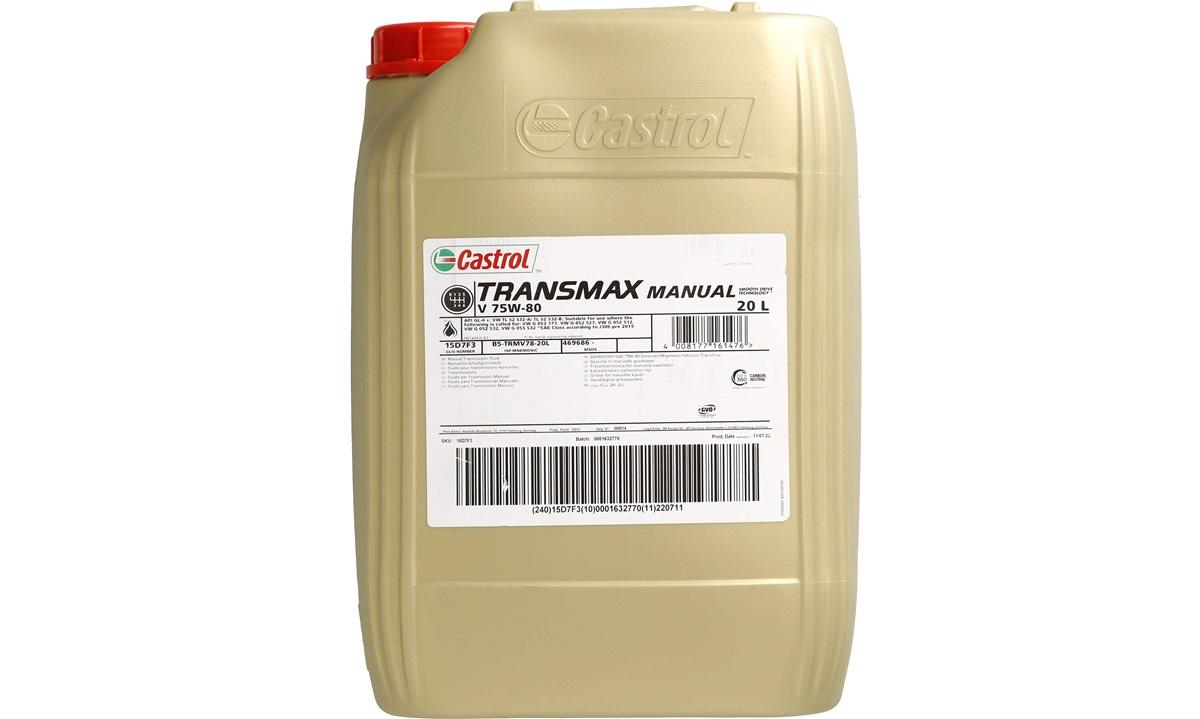 Castrol Syntrans V FE 75W-80 20 liter