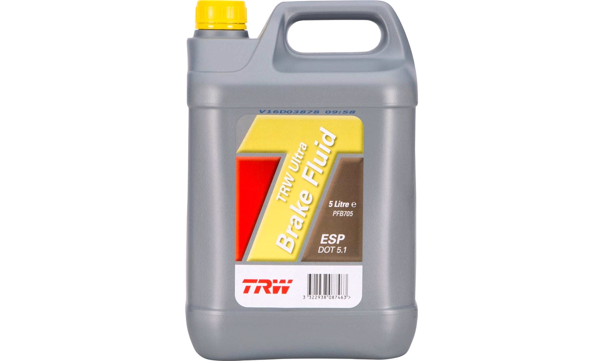 Bremsevæske DOT 5.1 ESP 5 liter - TRW