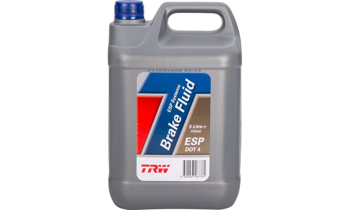 Bremsevæske DOT 4 ESP 5 liter - TRW