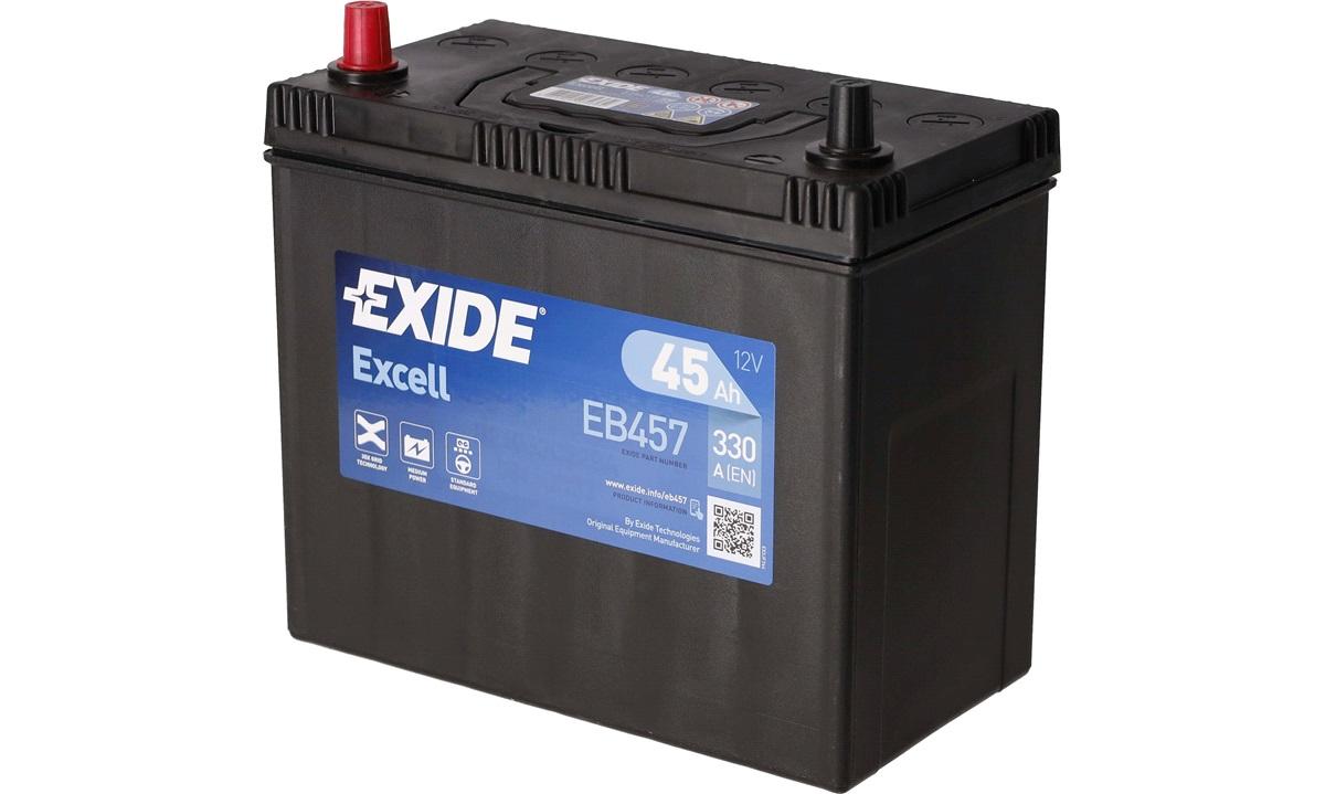 Batteri Exide - Easycode EB457 - 45 ah