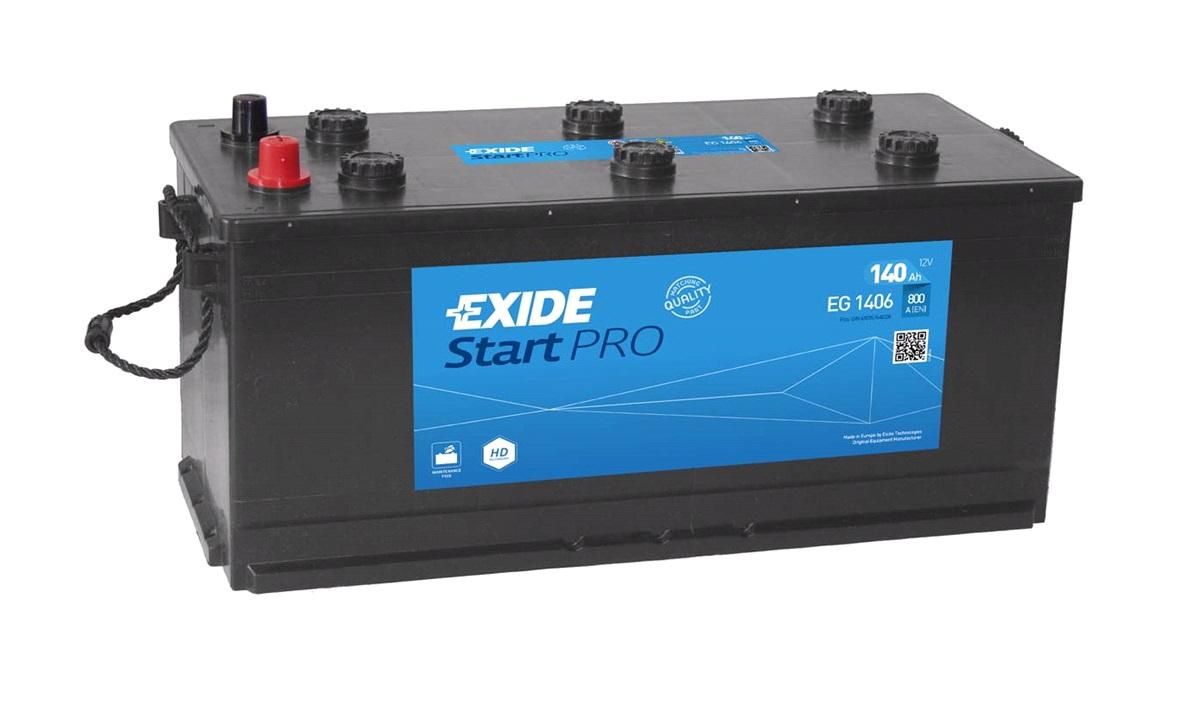 Startbatteri - EG1406 - StartPRO - (Exide)