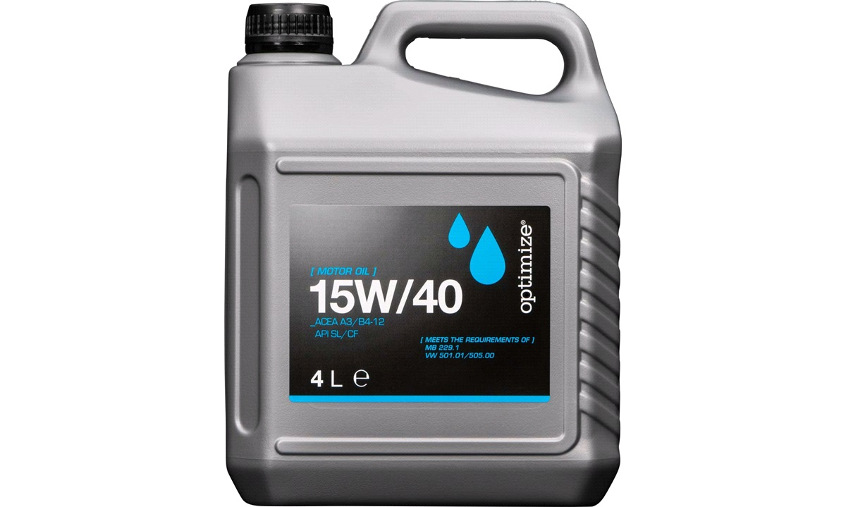 Optimize olie 15W/40 4 liter