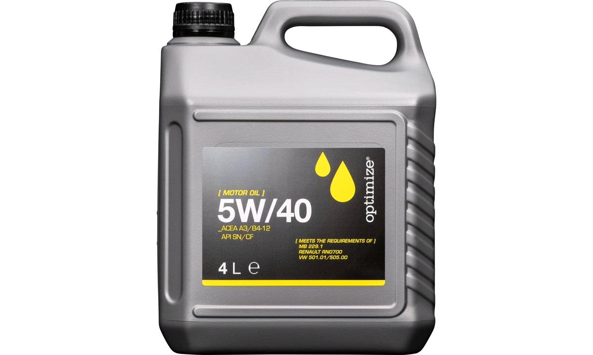 Optimize olie 5W/40 4 liter
