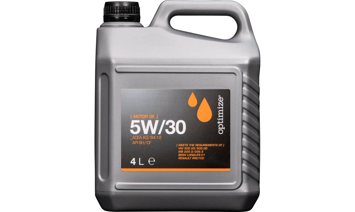 Optimize olie 5W/30 4 liter