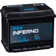 Batteri Inferno - (56259) - 62 ah