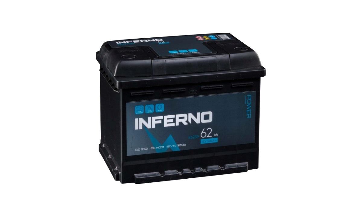 Batteri Inferno - (56259) - 62 ah