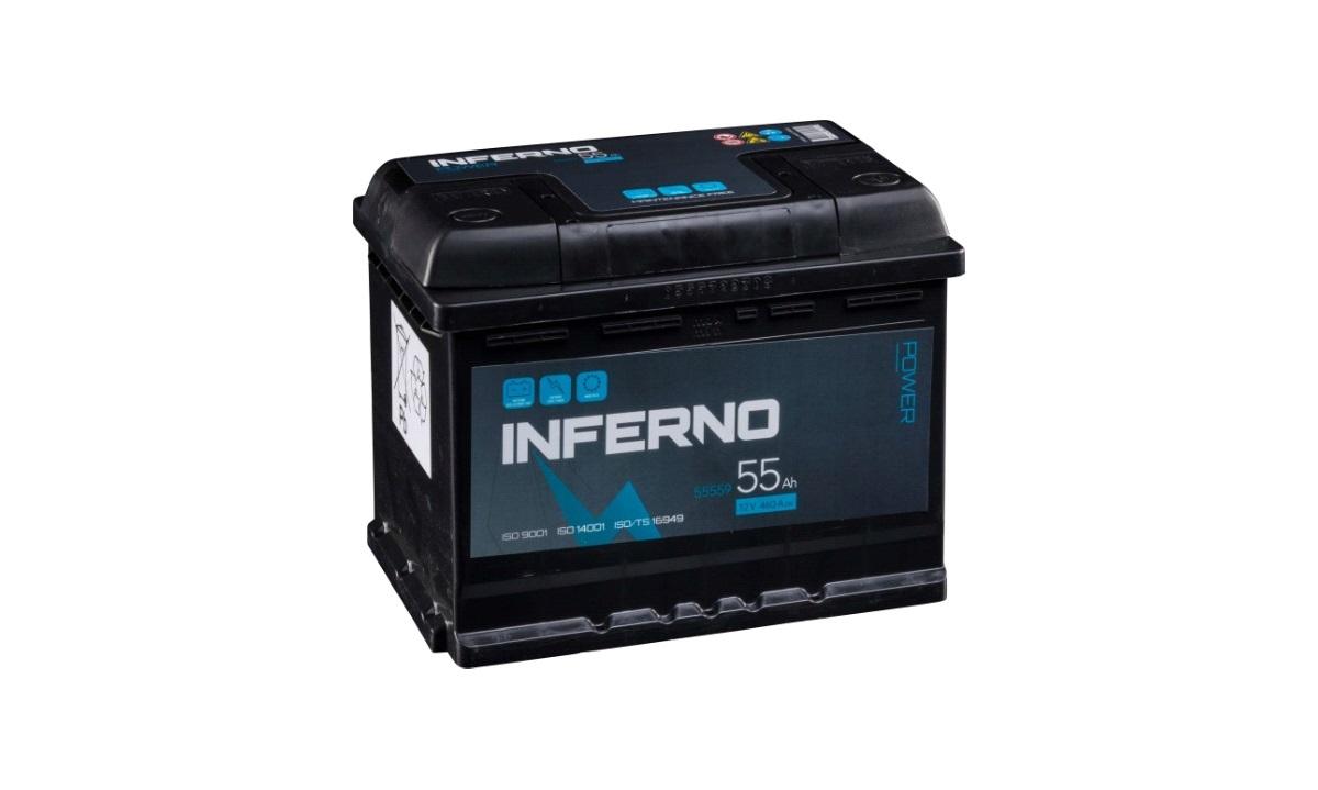 Batteri Inferno - (55559) - 55 Ah