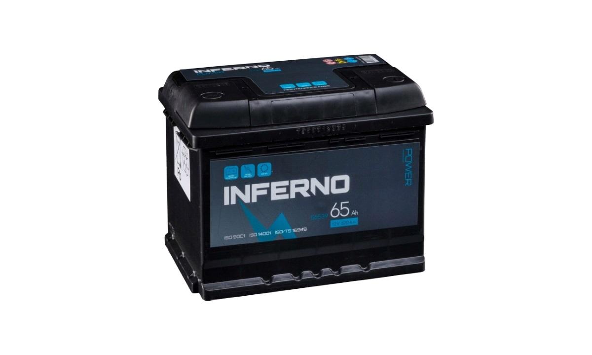 Batteri Inferno - (56539) -65 AH
