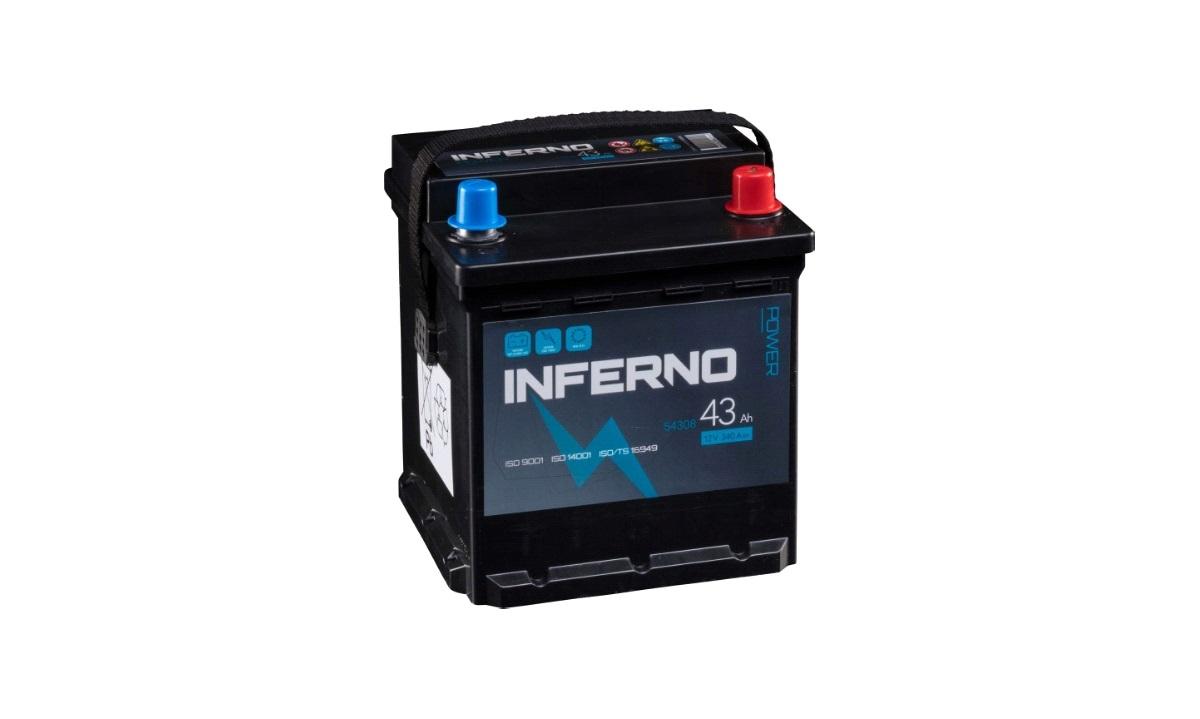 Batteri Inferno - (54308) - 43 AH