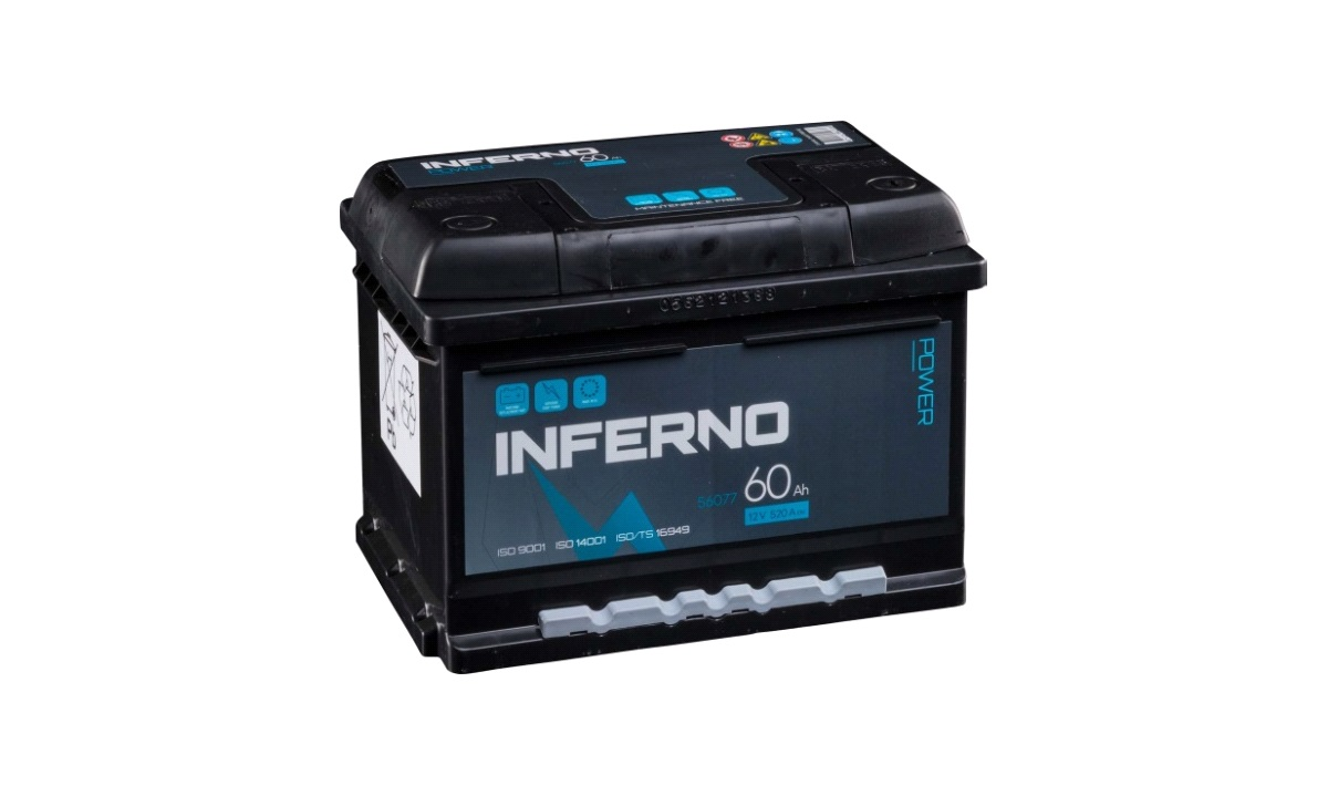 Batteri Inferno - (56077) - 60 Ah