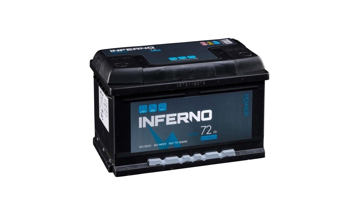 Batteri Inferno - (57258) - 72 Ah