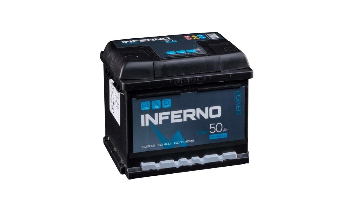 Batteri Inferno - (55058) - 50 Ah