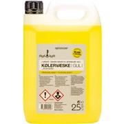 Kølervæske - GUL - klar til brug, 2,5 L