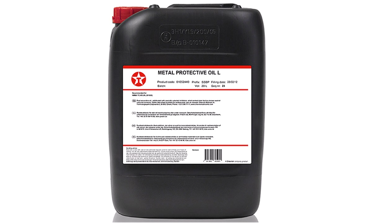 Texaco Metal PROTECTIVE OIL 20 Liter
