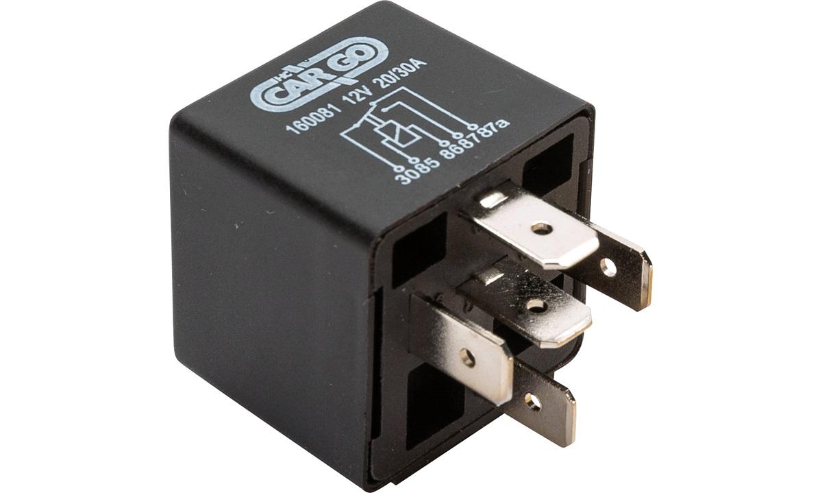 Skifterelæ 12V 20/30 amp