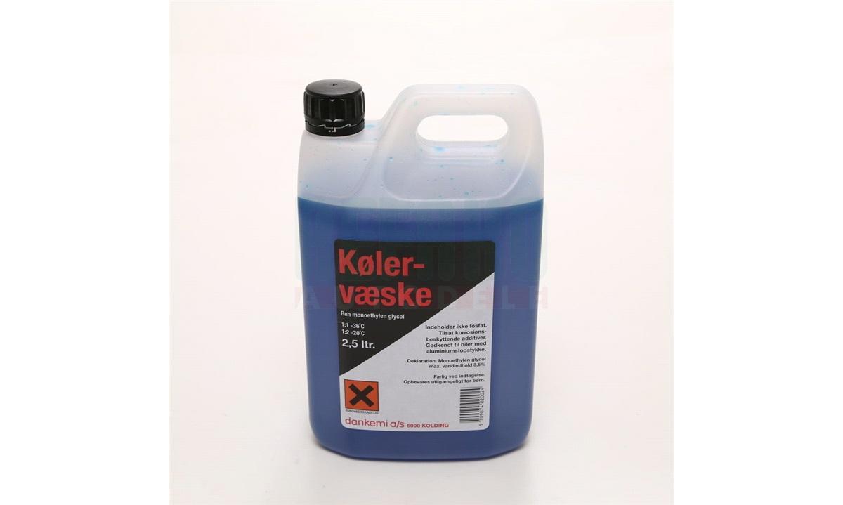 Kølervæske Blå 2,5 liter (DANKEMI)