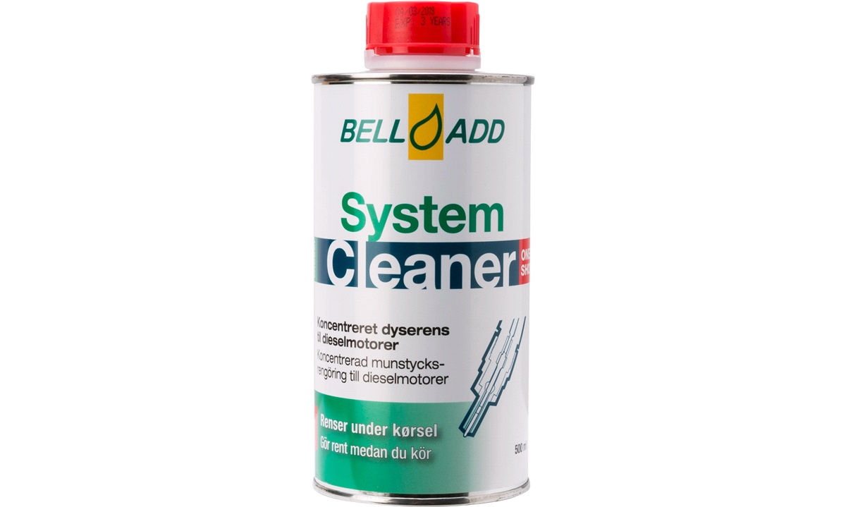 """Bell Add Syst. Cleaner """"One Shot"""" 500ml"""