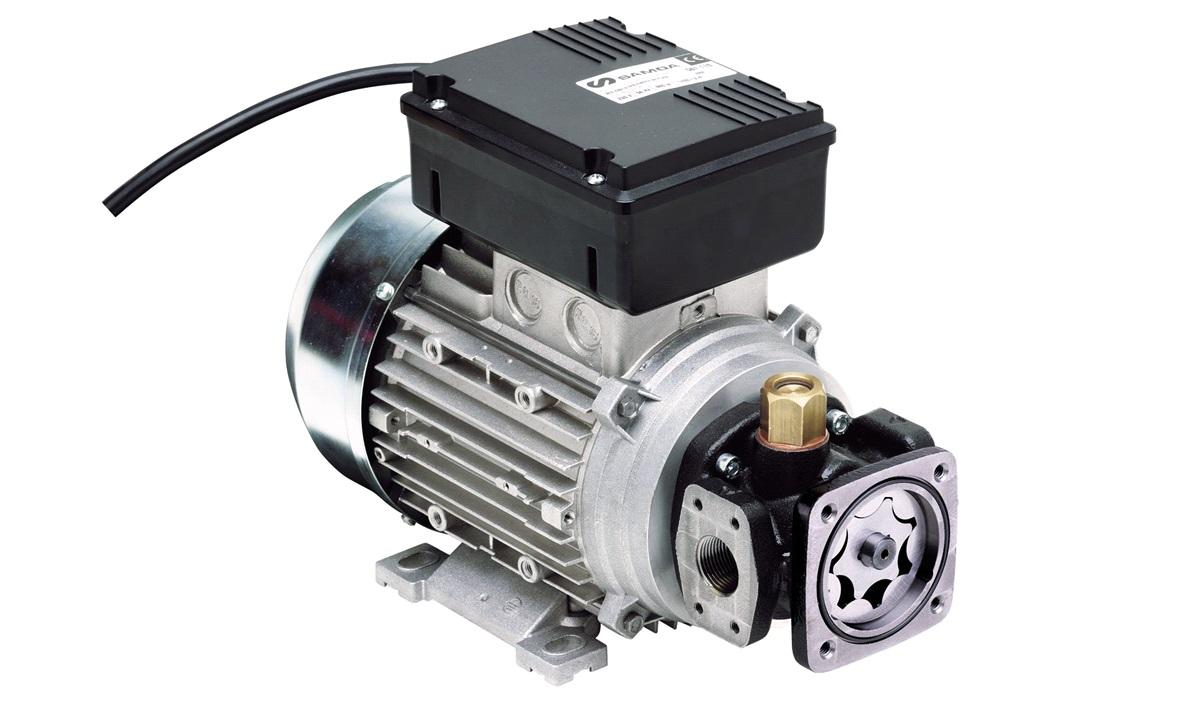 Elektrisk oliepumpe 230v-10 bar 9L/min