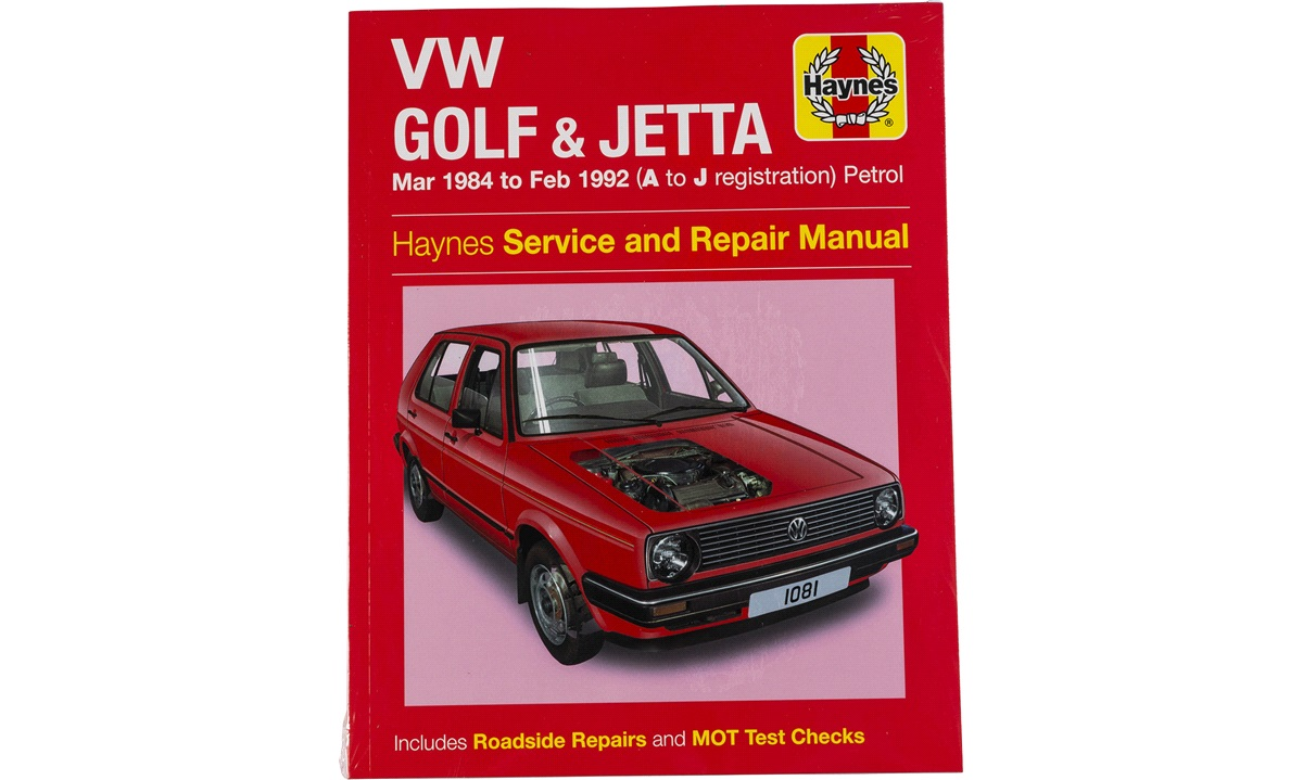 Rep.håndbok Golf II 1,1-1,8 8/83-10/91