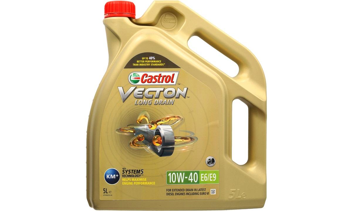Castrol Vecton LngDrn 10W/40 E6/E9 5L