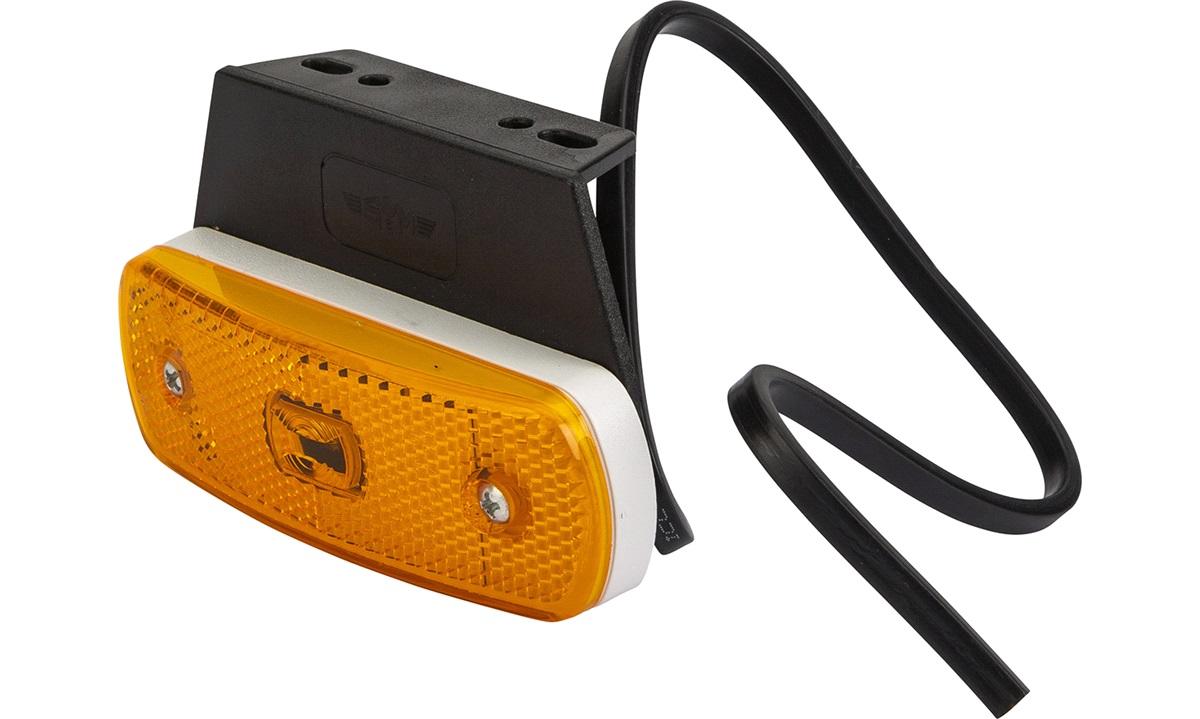 Sidemarkeringslyge orange LED
