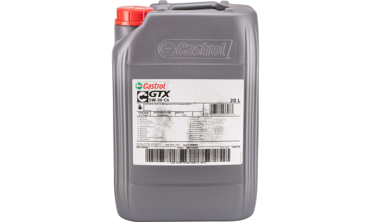 Castrol GTX 5W/30 (C4) 20 liter