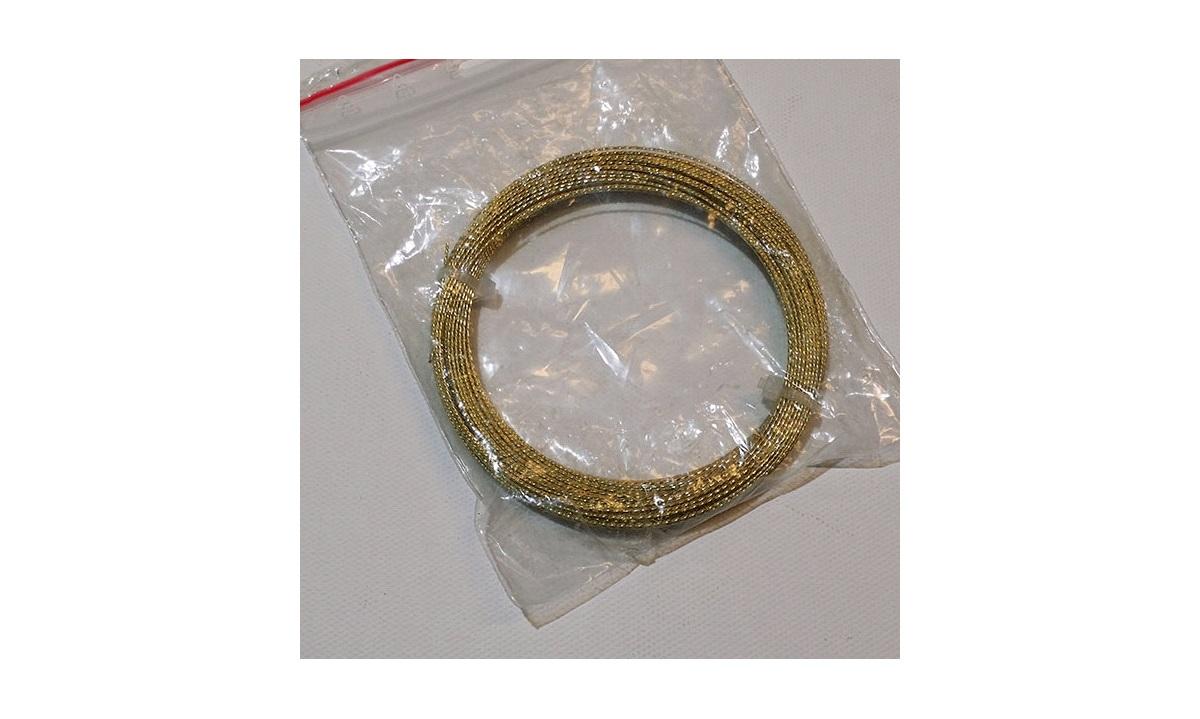 Guldtråd rudetrådrulle med 22,5m